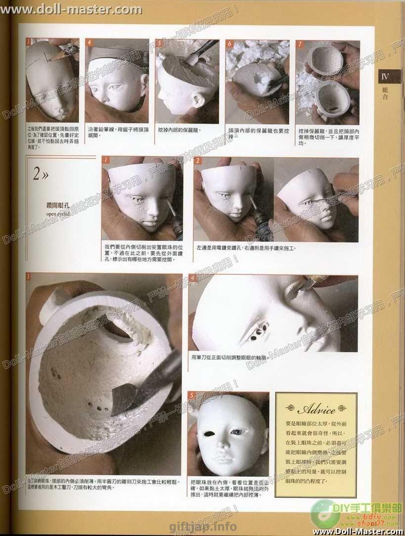 Как сделать кукол из шарниров