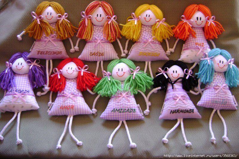 Куколки сувенирные своими руками